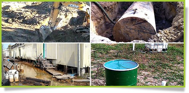 Site remediation at contaminated property in Markham